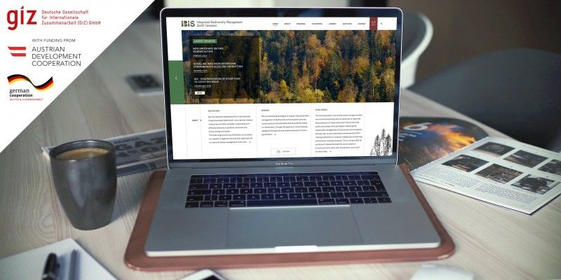 Website of an Integrated Biodiversity Management in the South Caucasus