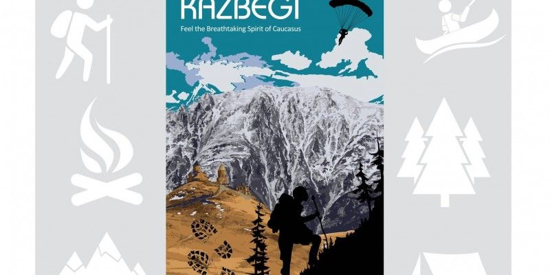 Free Edition Of Gudauri-Kazbegi Tourist Map
