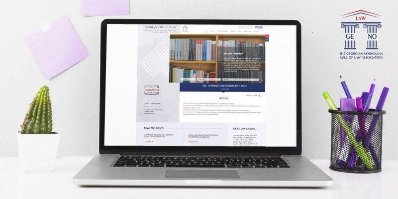 Design and Development of Georgian Law Journal's Website