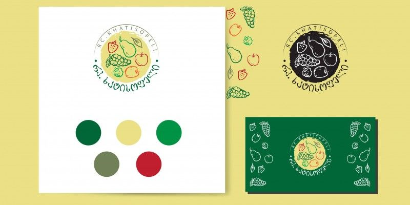 "Creation of Logo Design for The Agricultural Cooperative ""RC. Khatisopheli"""