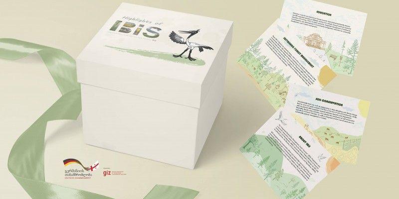 ბრენდული მასალების დიზაინის შექმნა (IBiS)-სათვის