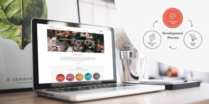 Website Design and Development For NSDS