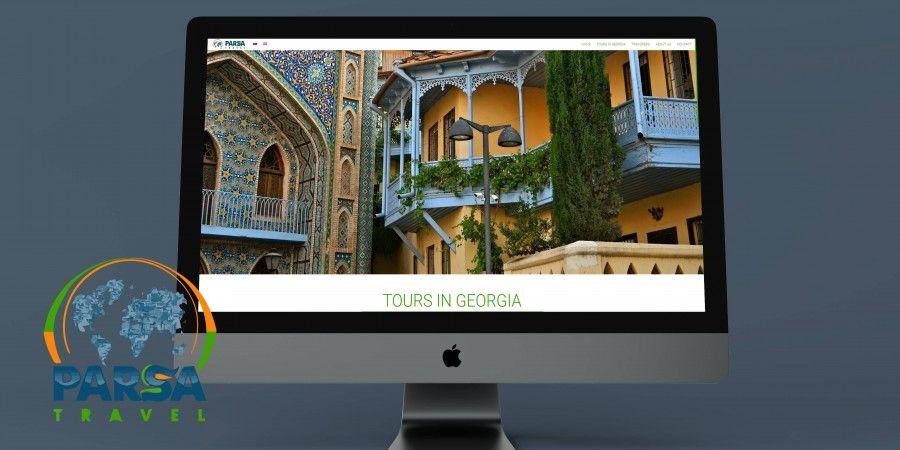 "Travel Company ""Parsatravel""'s webpage making"