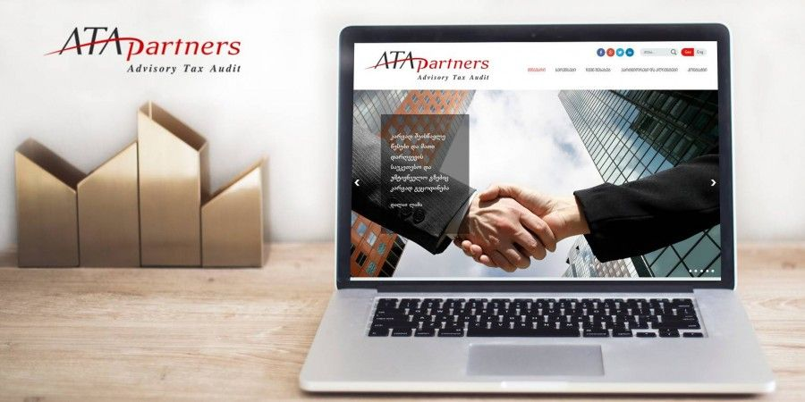 ATA partners  website development and design