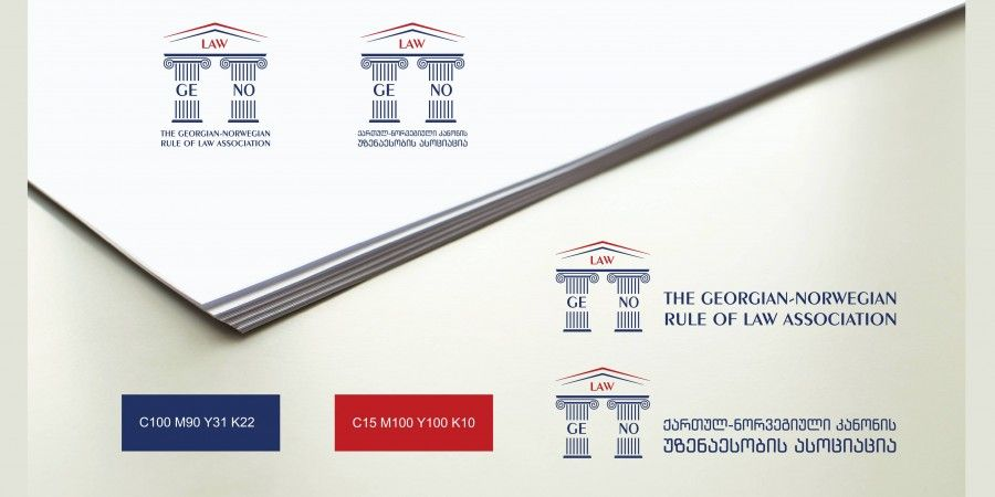 Creation of Logo&Website Design and Development for The Georgian-Norwegian Rule of Law Association NGO