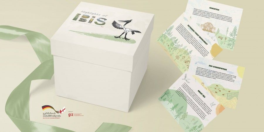 Creation of branded materials for IBiS