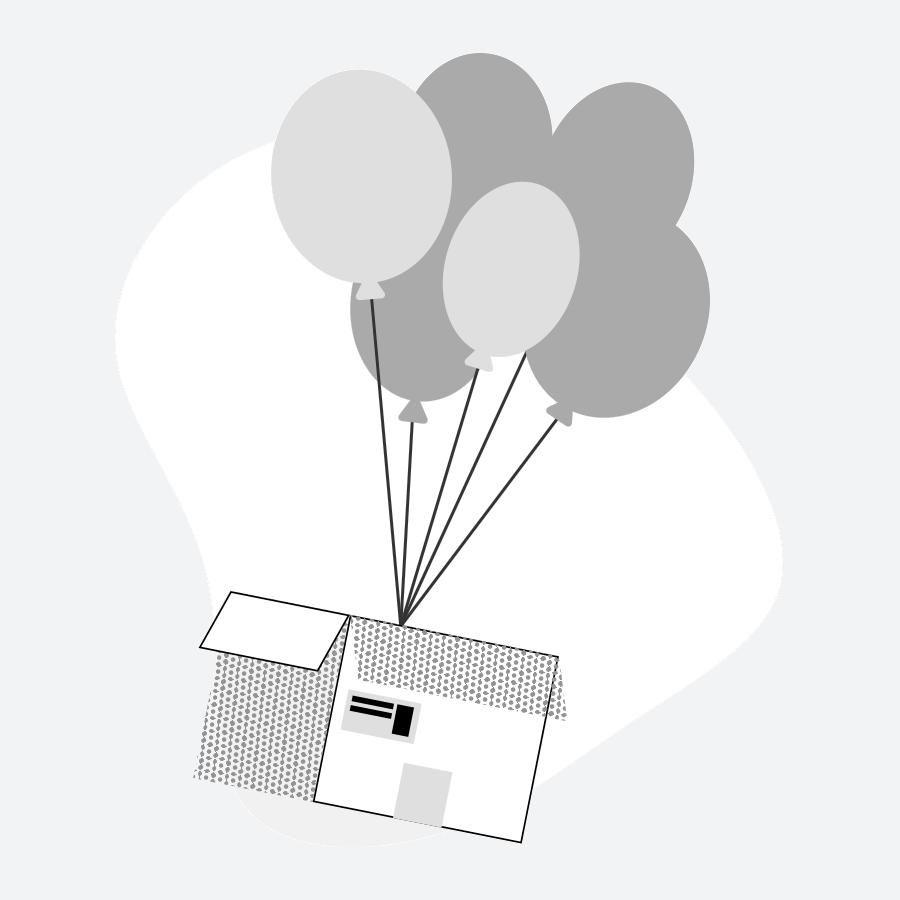 Box that flies